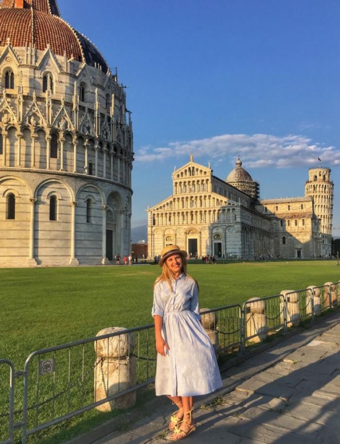 Закарпатка розповіла про навчання в Італії