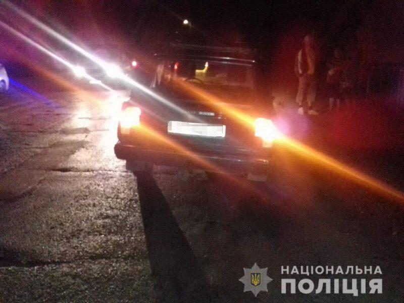 Жінка «ВАЗ 2104» на Виноградівщині збила пішохода (ФОТО)