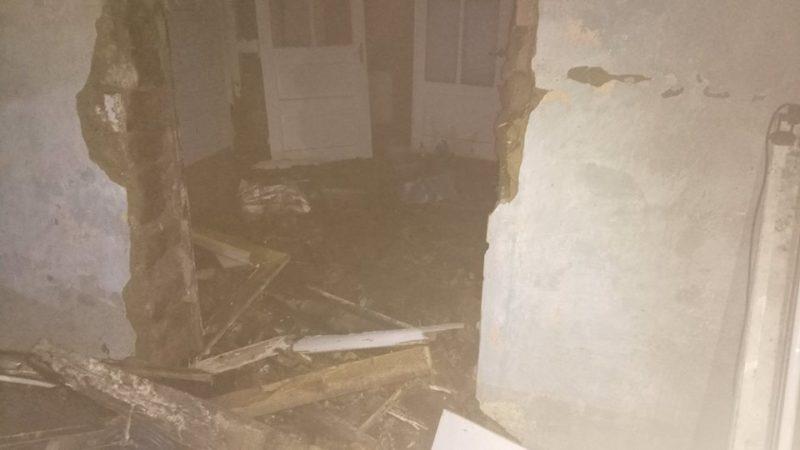 Вчора у Виноградові горів житловий будинок (ФОТО)