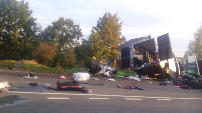 Закарпатський автобус потрапив у смертельну ДТП в Росії, 4 загиблих (ФОТО)