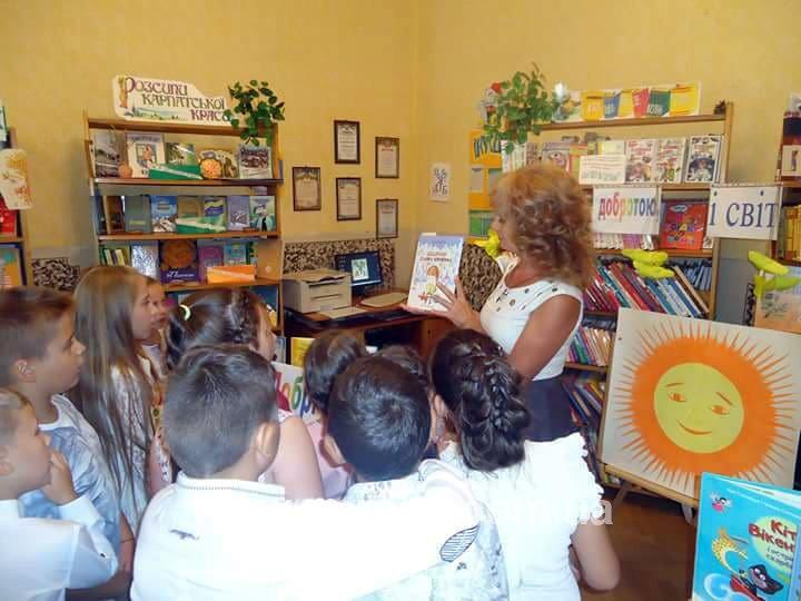 З нагоди свято Першого дзвоника у Виноградові дітей вчили ділитися добром (ФОТО)