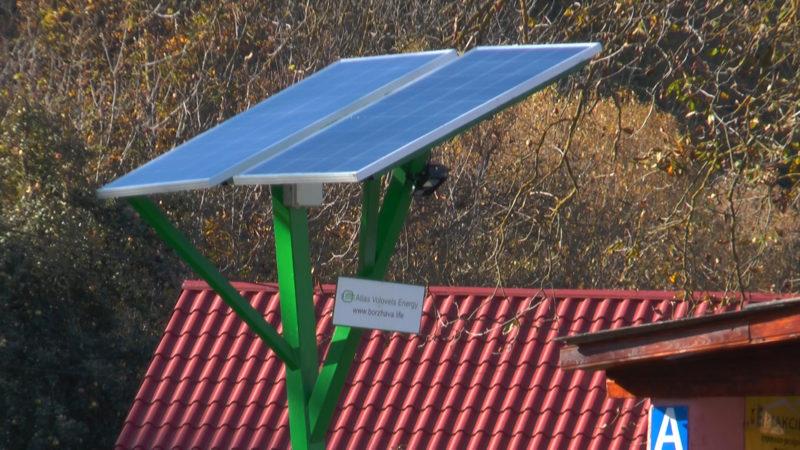 Сонячні панелі та десятки камер відеоспостереження у селі Тибаві на Свалявщині (ВІДЕО)