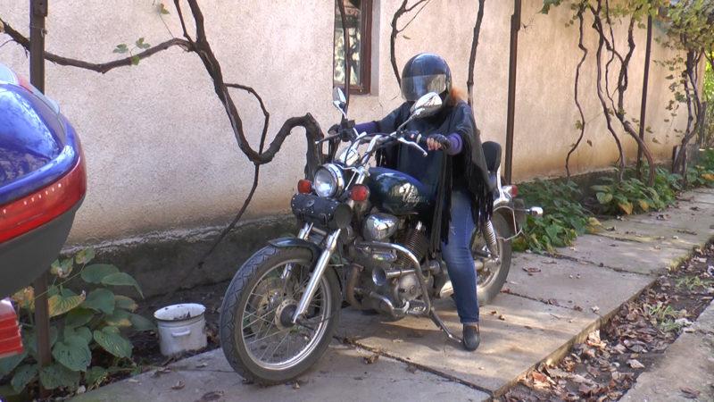На Виноградівщині проживає подружжя байкерів (ВІДЕО)