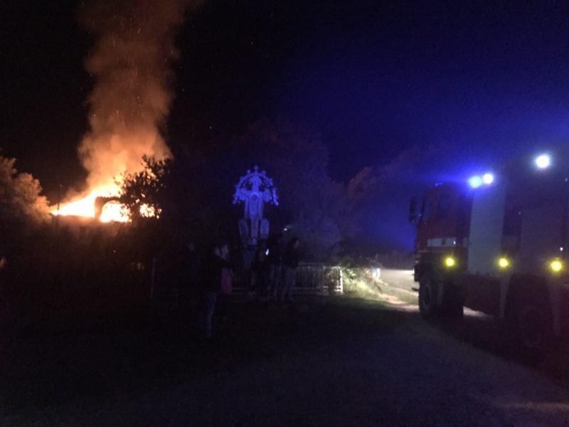 На Закарпатті у вогні загинув власник оселі – рятувальники розповіли деталі трагедії (ФОТО)