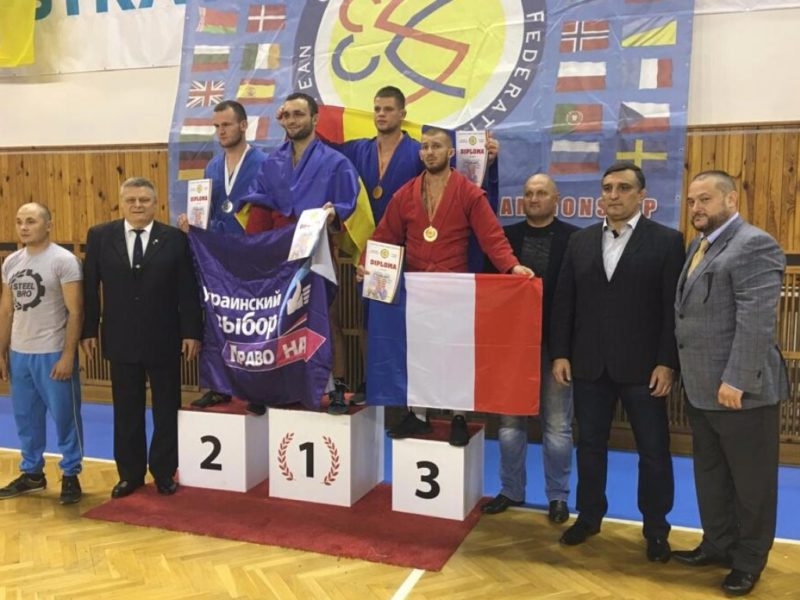 Віктор Медведчук привітав збірну команду України з бойового самбо з перемогою на чемпіонаті Європи