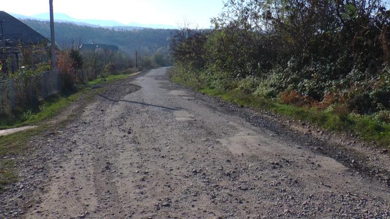 На Виноградівщині збиткова дорога руйнує рекреаційний потенціал сільського туризму (ВІДЕО)