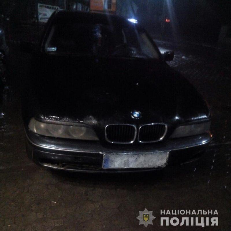 На Тячівщині  поліція позбавила одного з водіїв права керування