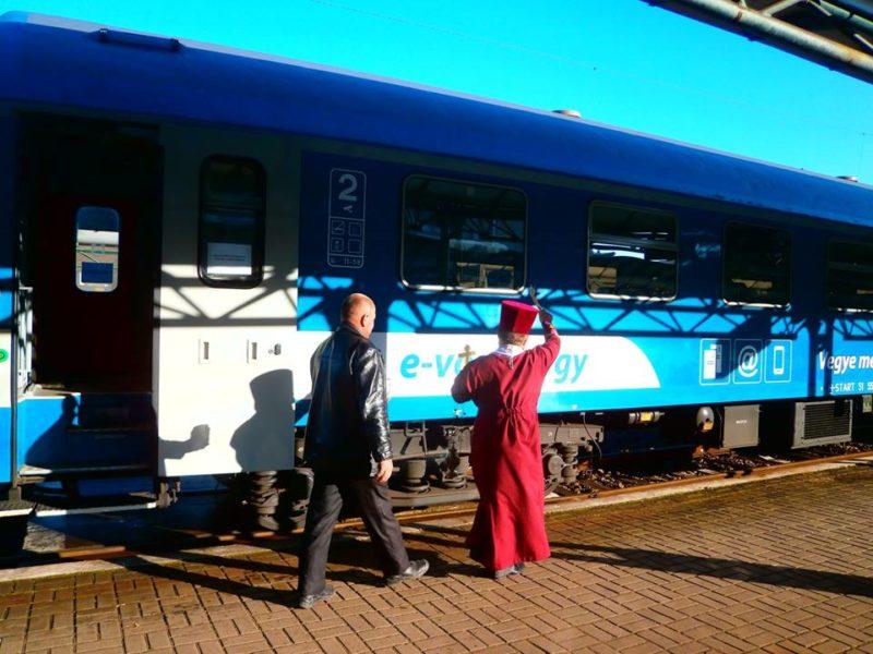 Стартувало залізничне сполучення з України в Угорщину (ФОТО, ВІДЕО)