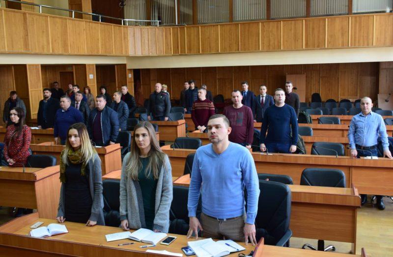 В Ужгороді відбулась позачергова сесія міської ради