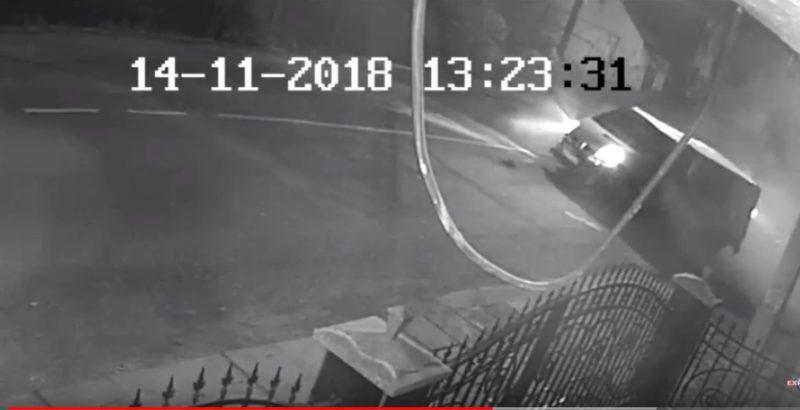 З'явилось відео зіткнення автівок у Виноградові (ВІДЕО)