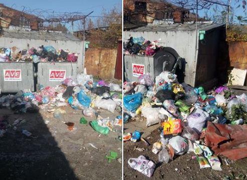 Мукачево потопає в смітті