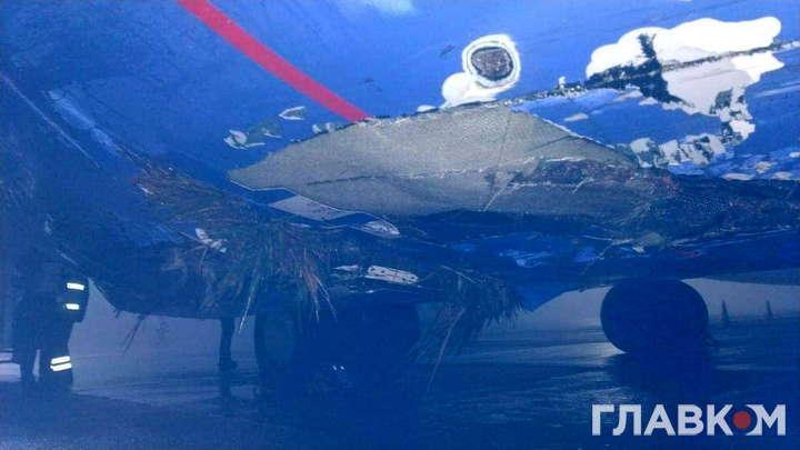 """Пасажирський літак потрапив в аварію в аеропорту """"Бориспіль"""""""