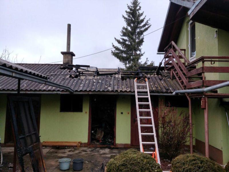 Оприлюднено фото наслідків пожежі, яка трапилася вчора у Виноградівському районі (ФОТО)