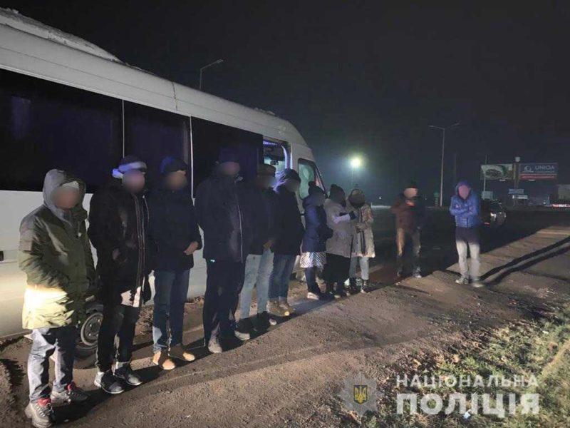 Закарпатська поліція впіймала дев'ятьох нелегалів (ФОТО)