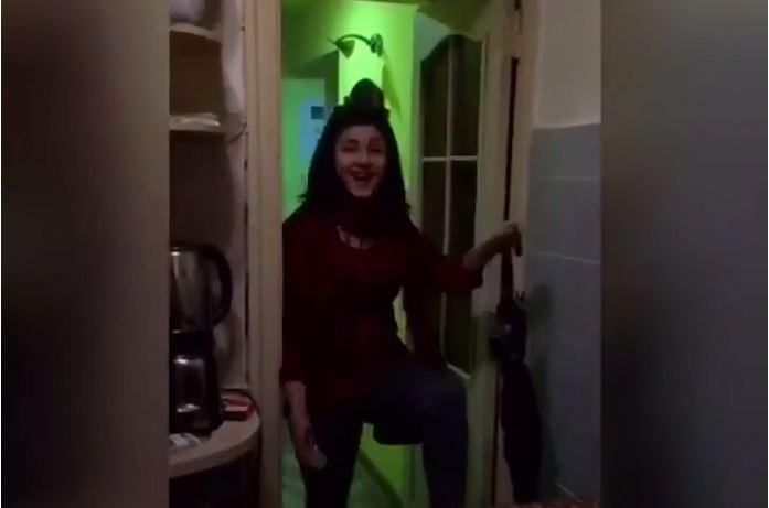Кумедне відео: як закарпатська жона свекруху-заробітчанку з Італії зустрічала (ВІДЕО)