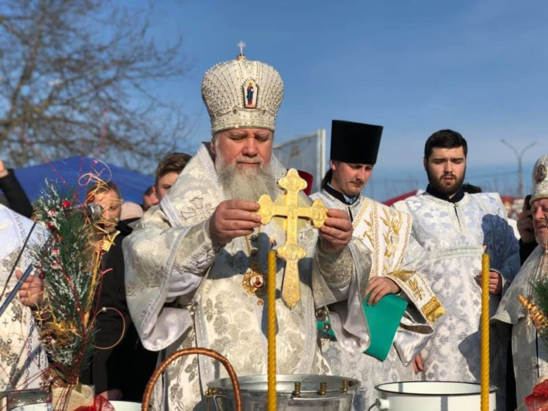 У Мукачеві відбулося Велике освячення води (ФОТО)