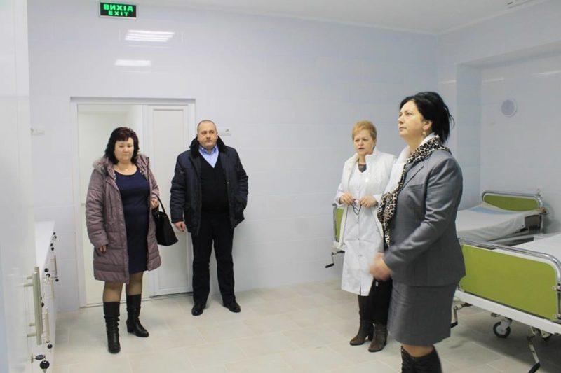 Приймальне відділення Виноградівської районної лікарні повністю відновлене (ФОТО)