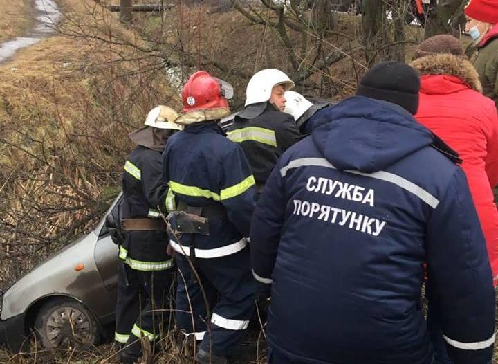Внаслідок ДТП троє потерпілих опинилися у лікарні (ФОТО)