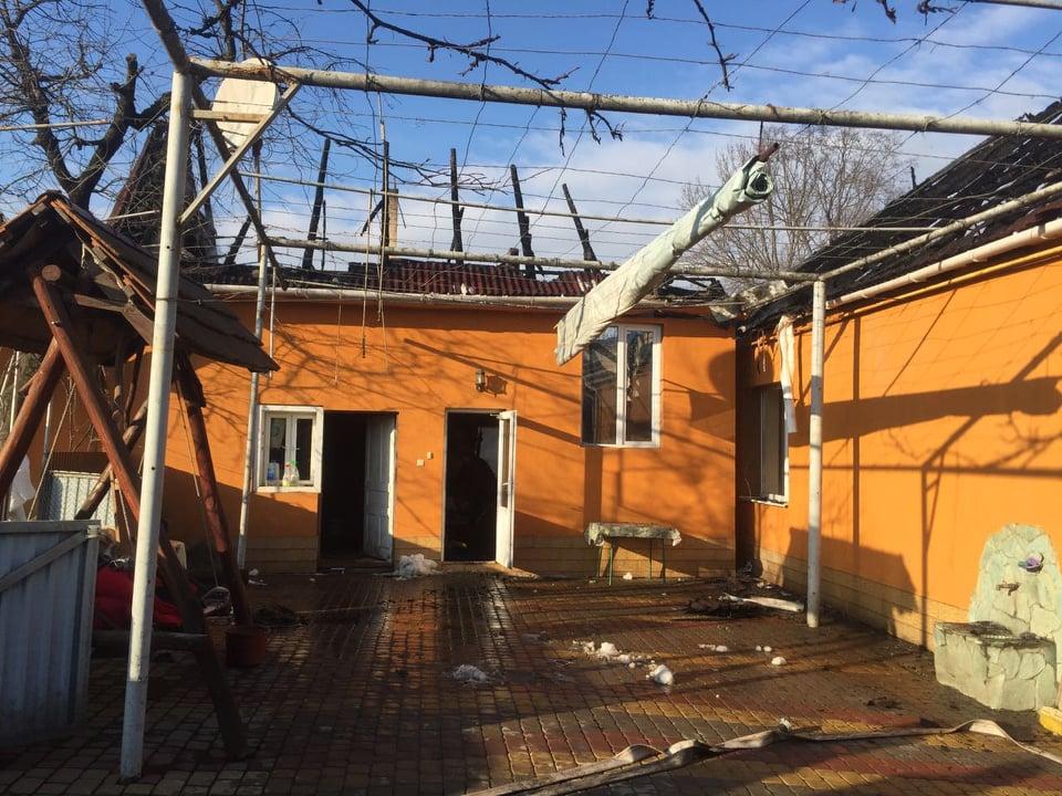 За останню добу у Закарпатській області горіло п'ять будинків (ФОТО)