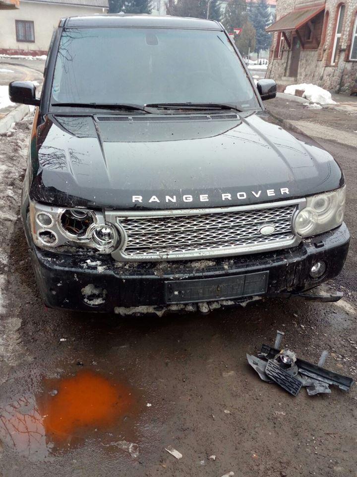 Хустські правоохоронці розшукали людину, що пошкодила сакури в місті Хуст (ФОТО)