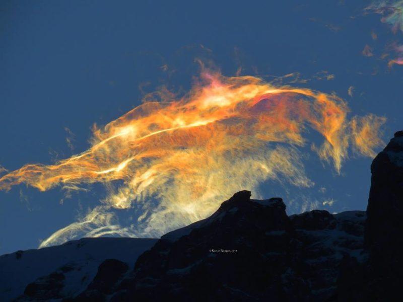 Дивовижне природне явище зафіксували у сусідів Закарпаття (ФОТО)
