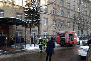 Студенти стали заручниками палаючого університету (ФОТО, ВІДЕО)