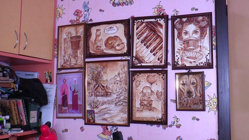 Ікони кавою: на Перечинщині живе унікальна художниця (ВІДЕО)