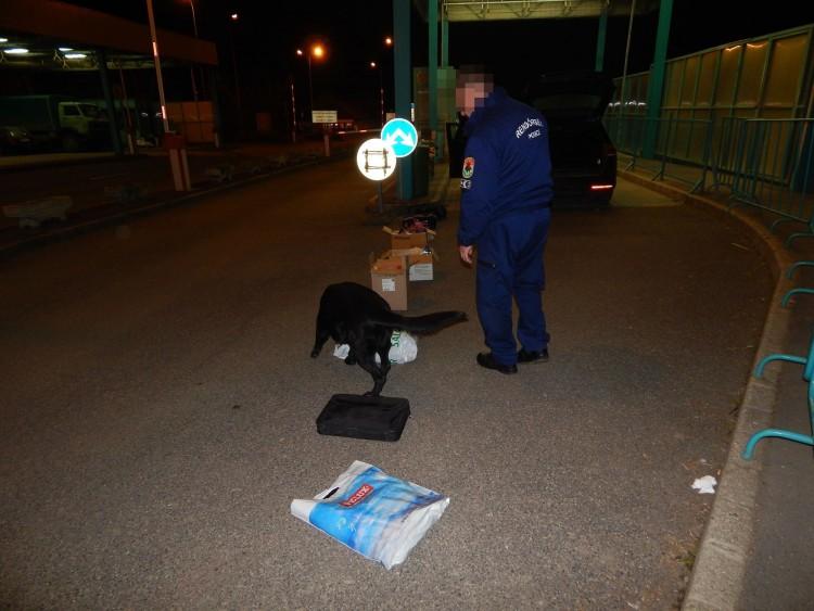Собачий нюх не підвів: із Закарпаття до Угорщини не потрапили наркотики (ФОТО)