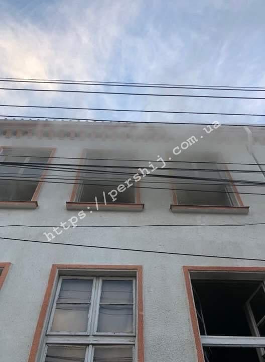Пожежа у Виноградівському навчальному закладі: рятувальники розповіли деталі