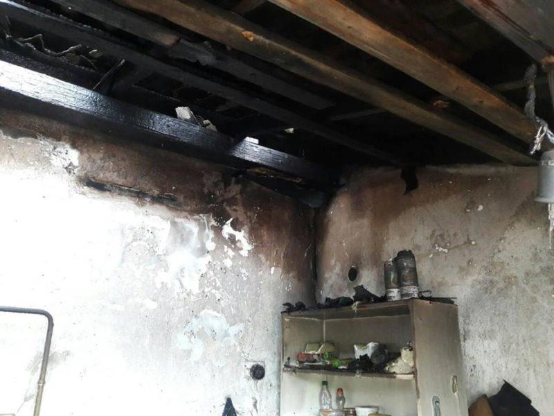 Пожежа на Виноградівщині: для місцевих жителів Пасха запам'ятається добряче (ФОТО)