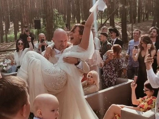 Зіркове весілля онлайн: Потап і Настя Каменських об'єднали свої долі (ФОТО, ВІДЕО)