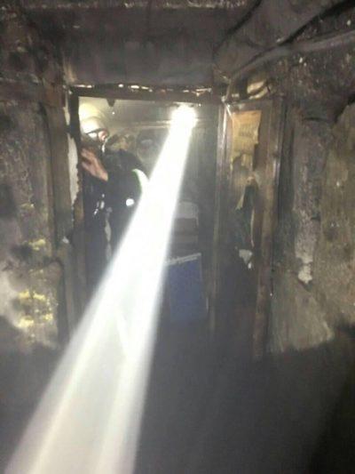 Через пожежу в одній з багатоповерхівок Закарпаття рятувальники евакуйовували людей (ФОТО), фото-2