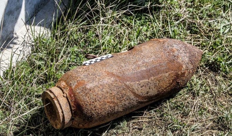 Небезпечна знахідка: на Закарпатті знайшли 20 авіабомб