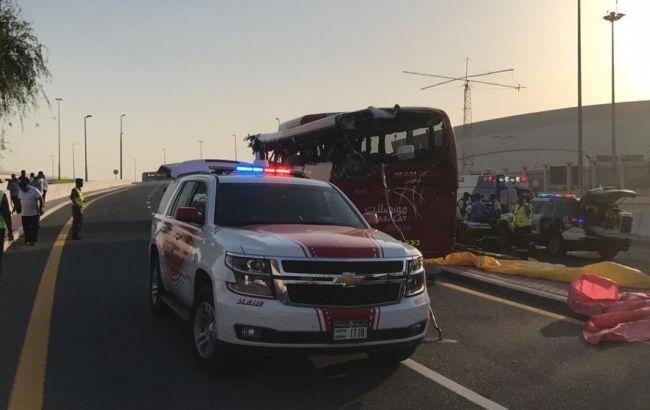 ДТП туристичного автобуса у Дубаї: загинули 17 осіб