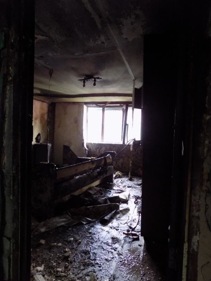 В Хусті місцевий мешканець навмисно підпалив будинок коханої (ФОТО)