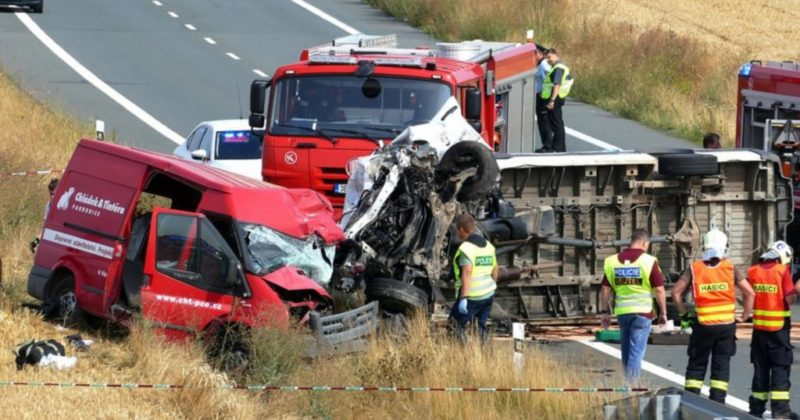 Двоє прикарпатців загинули в страшній ДТП у Чехії (ФОТО)