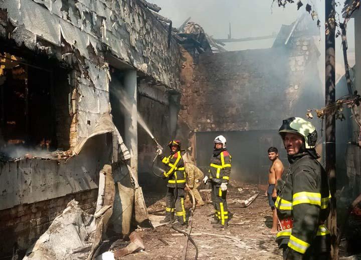 Резонанса пожежа у житловому будинку біля Мукачева: нові подробиці від вогнеборців (ФОТО)