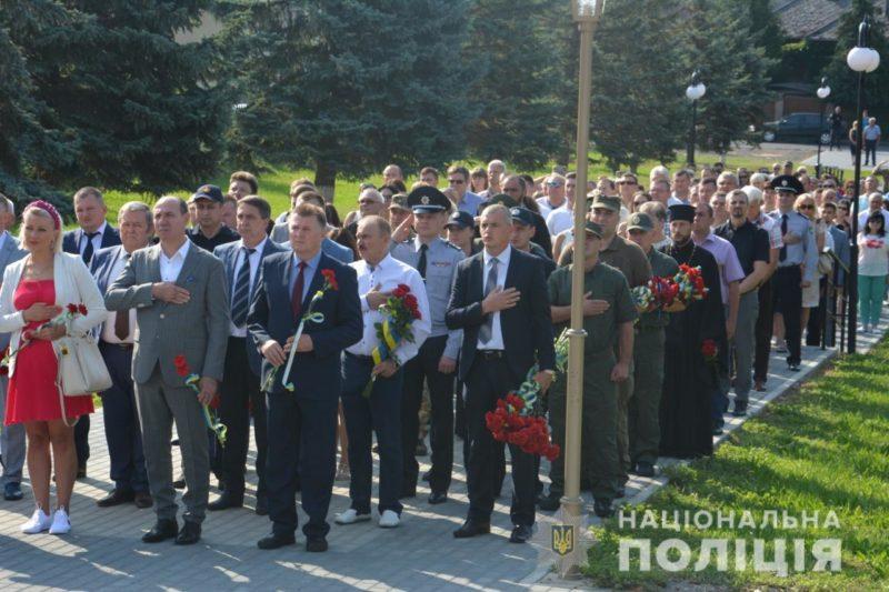 На Закарпатті вшанували пам'ять загиблих захисників (ФОТО)