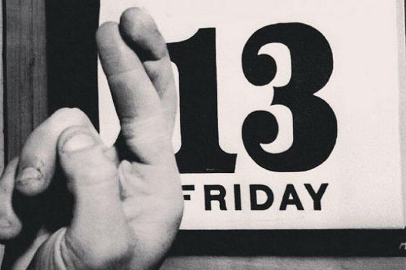 А Вас лякає п'ятниця 13? Ритуали, забобони та прикмети
