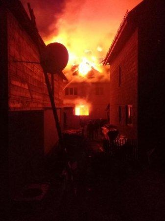 Пожежа на Рахівщині: горить «Попівська фара» (ФОТО)