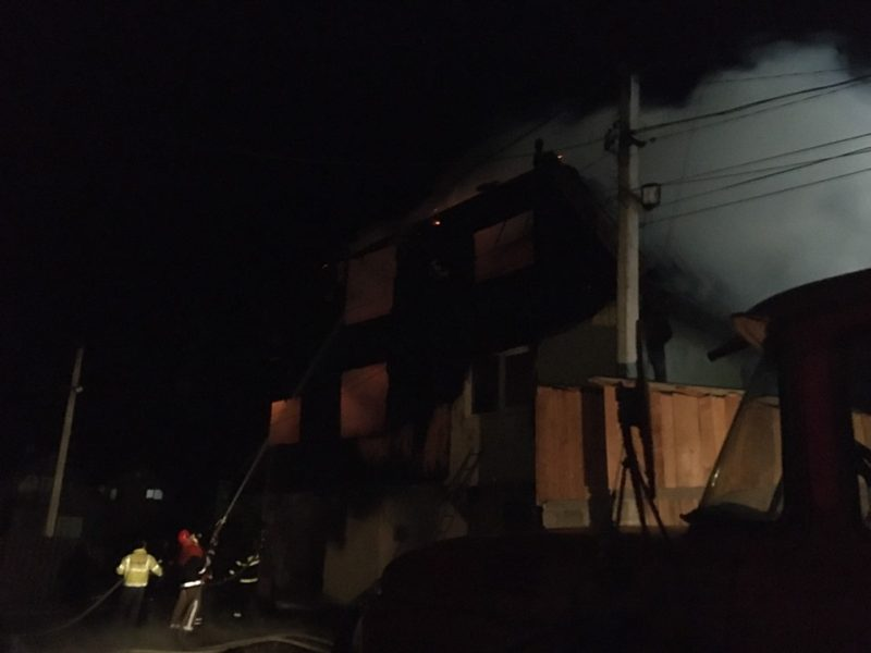 Масштабна пожежа на Рахівщині у будинку священика: подробиці від вогнеборців (ФОТО)