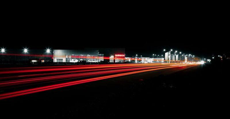 Магія: нічне Мукачево у довгій витримці (ФОТО)