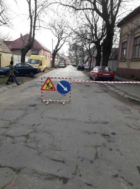 Жителів Берегова попереджають про ремонтні роботи та ускладення руху містом (ФОТО)