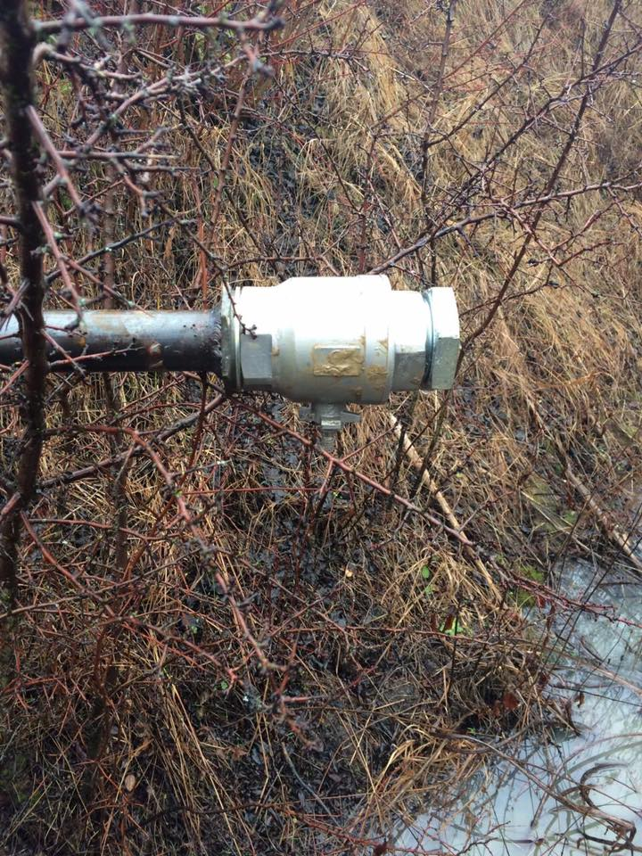"""На Берегівщині """"кмітливі винахідники"""" врізались в нафтопровід"""