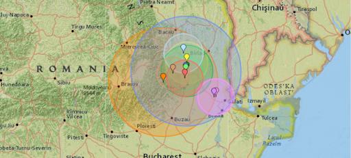 Нічні поштовхи: В Румунії поблизу з Україною стався землетрус