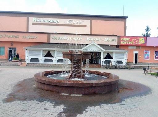 Напівоголений чоловік у Хусті купався у фонтані (ВІДЕО)