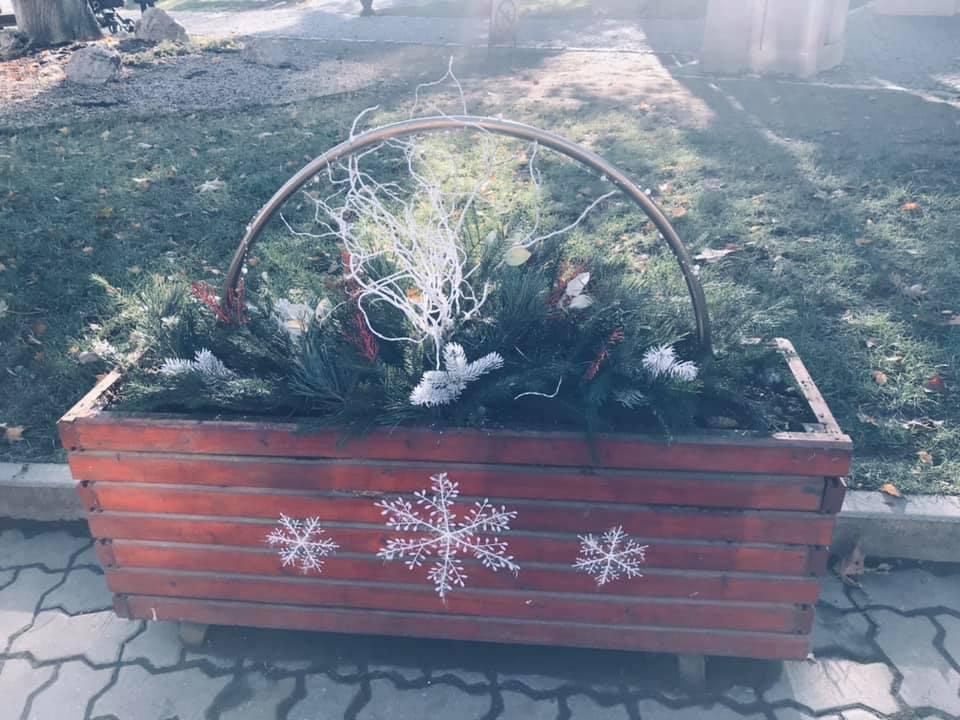 У Берегові активно готуються до зимових свят (ФОТО)