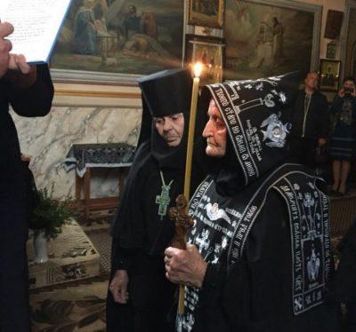 Закарпаття, Мукачівщина, монастри, схимонахиня, смерть