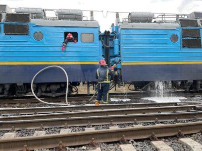 Під час руху загорівся поїзд сполученням Миколаїв-Рахів (ФОТО)