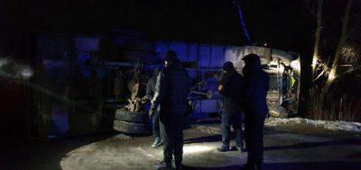 Оприлюднили офіційні подробиці ДТП на Свалявщині за участю автобуса (ФОТО)